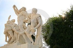 Sculpture At Versailles Royalty Free Stock Photos - Image: 935988