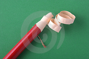 Peelable Marker Pencil (Green Background) Royalty Free Stock Photos - Image: 936708