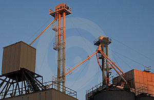 Industrial Sunset Light 2 Stock Photography - Image: 938642