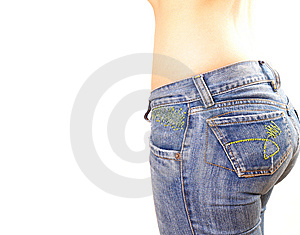 Woman Jeans Royalty Free Stock Photography - Image: 9300277