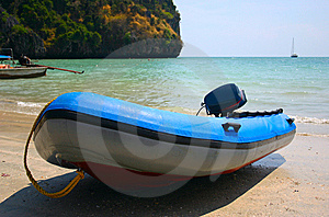 Inflatable Boat Stock Photography - Image: 9308502