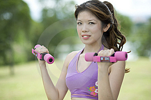 Fitness Series Resistance Training Royalty Free Stock Images - Image: 9308939