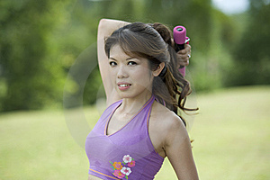 Fitness Series Resistance Training Royalty Free Stock Photos - Image: 9309048