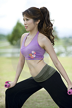 Fitness Series Resistance Training Royalty Free Stock Photography - Image: 9309117