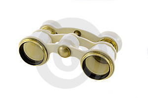 Old Opera Glasses Stock Photos - Image: 9309513