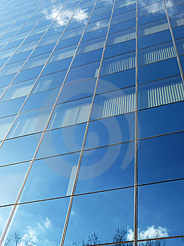 Reflective Glass Stock Photo - Image: 9310180