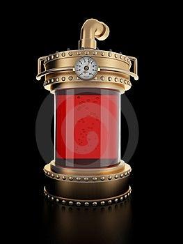 Steampunk Laboratory Bottle Stock Photography - Image: 9310202