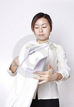 Chinese Girl Royalty Free Stock Photos - Image: 9310438