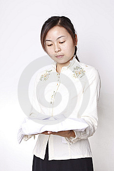 Chinese Girl Royalty Free Stock Image - Image: 9310446