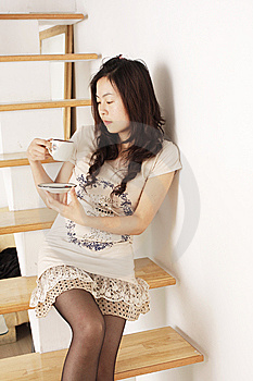 Chinese Girl Royalty Free Stock Images - Image: 9310599