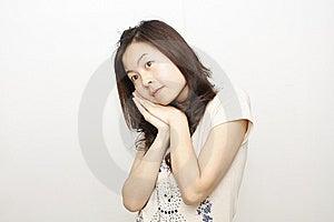 Chinese Girl Stock Image - Image: 9310681
