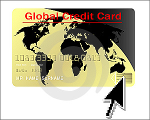 Global Credit Card Vector Stock Photos - Image: 9311743
