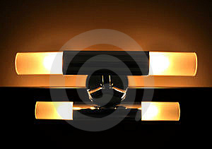 Interior Lighting Stock Photo - Image: 9312080