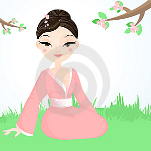 Geisha Royalty Free Stock Images - Image: 9313089