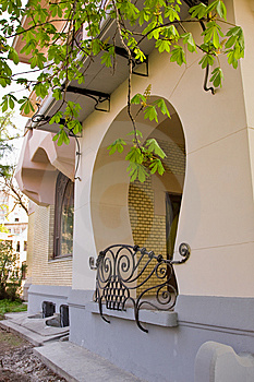 Element Of Art Nouveau Building Royalty Free Stock Photography - Image: 9313377