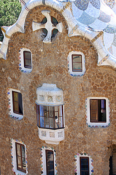 Park Guell, Barcelona, Spain Stock Images - Image: 9314044