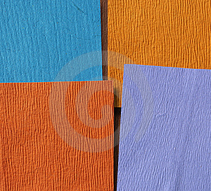 Handmade Color Papers Stock Images - Image: 9316374