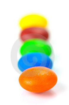 Chocolated Coated Candy Royalty Free Stock Photos - Image: 9316858