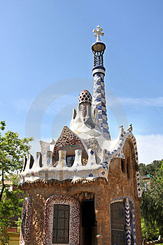 Park Guell, Barcelona, Spain Royalty Free Stock Photo - Image: 9318875