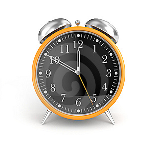 Stylish Alarm Clock Stock Photos - Image: 9319273