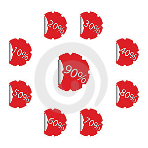 Stickers Stock Photo - Image: 9320080