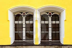 Two Windows Royalty Free Stock Image - Image: 9322426
