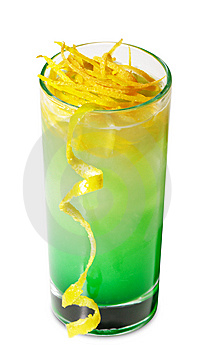 Green Cocktail Royalty Free Stock Image - Image: 9322646