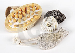 Bath Items Royalty Free Stock Photography - Image: 9323677
