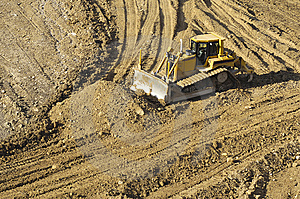 Bulldozer Royalty Free Stock Images - Image: 9324809