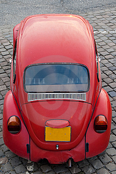 Red Beetle Front Headlight Royalty Free Stock Image - Image: 9328696