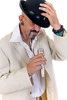 Alternative Man Royalty Free Stock Image - Image: 9328756