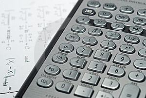 Advanced Financial Calculator Stock Image - Image: 9331981