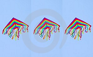 Three Kites Royalty Free Stock Images - Image: 9333219
