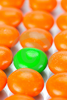 Chocolated Coated Candy Royalty Free Stock Photography - Image: 9338697