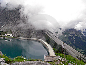 Luenersee Mountain Lake2 Royalty Free Stock Photography - Image: 9342897