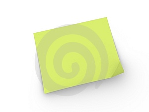 Yellow Stick Paper Royalty Free Stock Photography - Image: 9344567