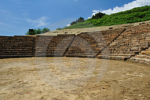 Archaeological Site Of Morgantina Royalty Free Stock Photo - Image: 9345535