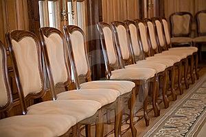 Krzesło Rząd Zdjęcia Royalty Free - Obraz: 9345738
