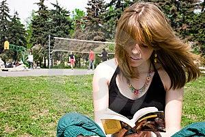 Nätt Unga Avläsningskvinnor För Bok Royaltyfri Bild - Bild: 9345856