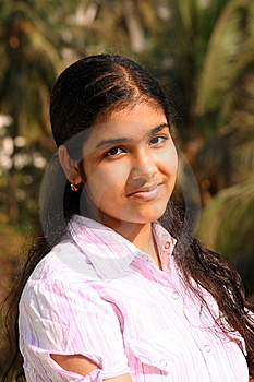 Magical And Youthful Face Royalty Free Stock Photography - Image: 9347537