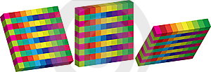 Cubes Royalty Free Stock Image - Image: 9348256