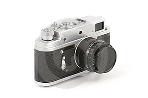 Old Analog Camera Stock Images - Image: 9348684