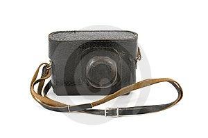 Macchina Fotografica Dell'annata In Trasportare-Contenitore Immagini Stock - Immagine: 9348744