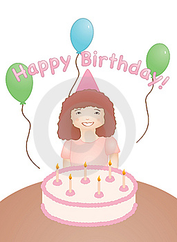 Happy Birthday Royalty Free Stock Photography - Image: 9349157