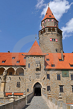 Stronghold Bouzov, Czech Royalty Free Stock Photo - Image: 9349915