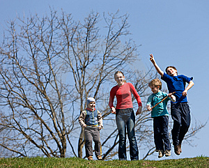 Jump Stock Photography - Image: 9350642