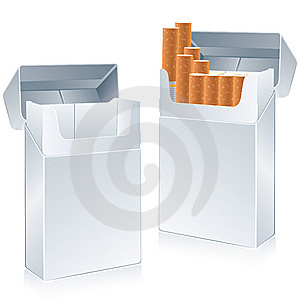 Cigarette Pack Stock Photography - Image: 9351712