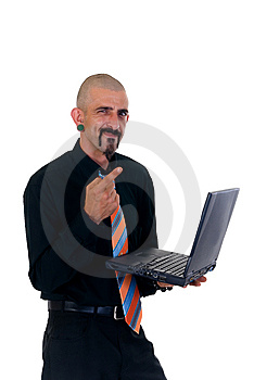 Alternative Businessman Royalty Free Stock Images - Image: 9353179