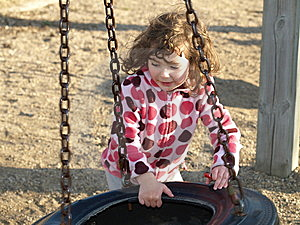 Playing Little Girl. Royalty Free Stock Photos - Image: 9355538