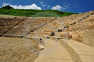Archaeological Site Of Morgantina Royalty Free Stock Photography - Image: 9357077